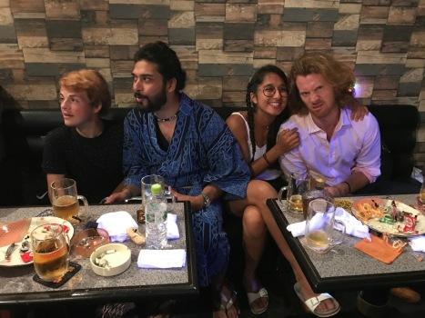 Andrew and Haruka's nijikai at Lola's