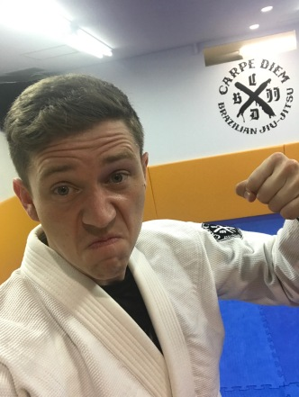 Acting tough at BJJ