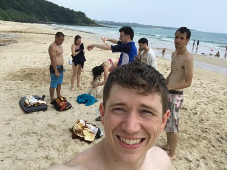 Koujushi beach for the afternoon