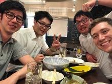 Met up with some Nagasaki peeps on my trip to Tokyo