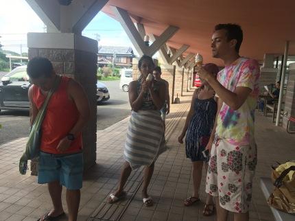 Ice cream at the furusatokan
