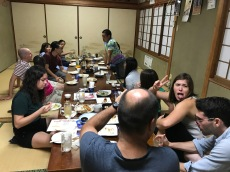 Goto Welcome Party Dinner