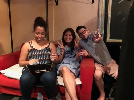 Phoebe, Mei, and Dan