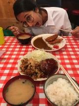 Messy dinner at Masa's Kitchen