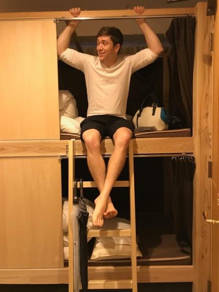 in the hostel