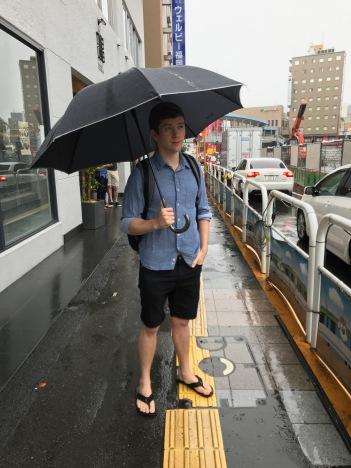 Rainy Fukuoka