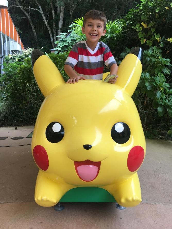 Zach found so many Pikachus he loved