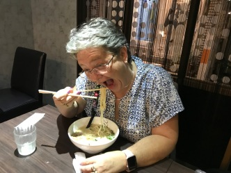 Mom was okay with the ramen :)