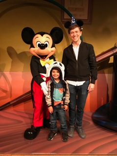 We met Mickey!