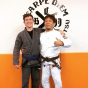 The day that Mr. Moriyama gave me my blue belt.