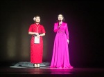 Hosts of the performance.