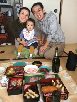 YuuKaoHana and some delicous New Years' foods