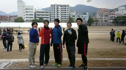 This year's team: Matsuda, Hisashiba, Ogushi, me, Nishimura